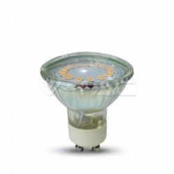 Lampadina LED faretto 5W GU10 Vetro Bianco freddo