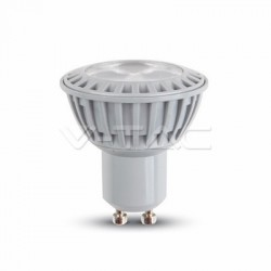 Lampadina LED faretto 5W GU10 Plastica Bianco Caldo