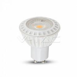 Lampadina LED faretto 6W GU10 Plastica 38'D Bianco Caldo