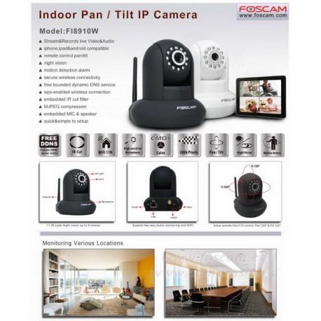 Foscam FI 8910E IP Camera 360°
