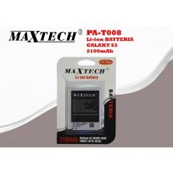 Batteria Samsung S3, S3 Neo 2100 mAh MaxTech